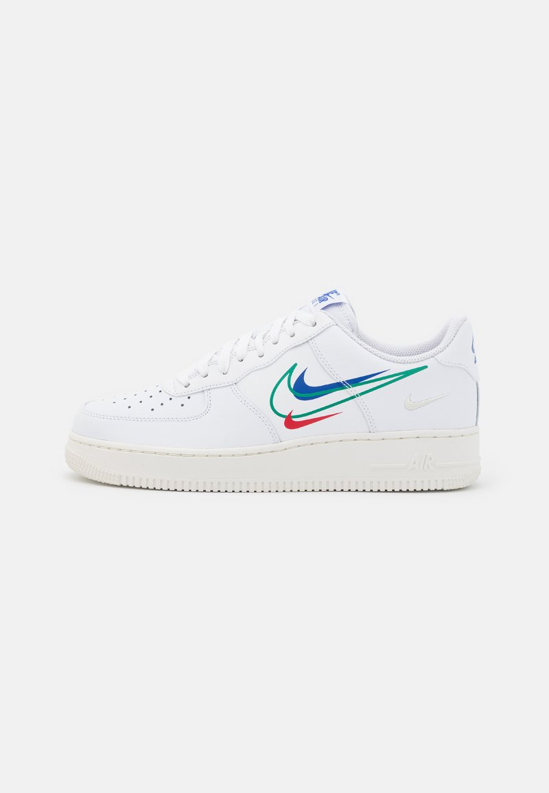 Nike Sportswear - AIR FORCE 1  - Sneakers laag - white/green noise/game royal/university red/sail