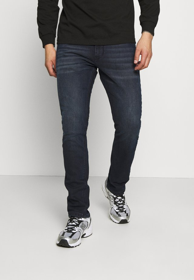 Slim fit jeans - black vintage wash
