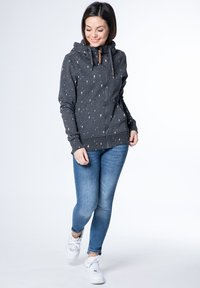 alife & kickin - YASMIN  - Zip-up hoodie - black - 1