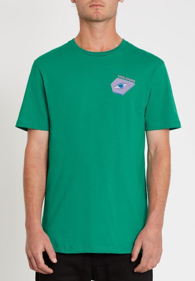 M. LOEFFLER 2 FA SS - T-shirt imprimé - synergy_green