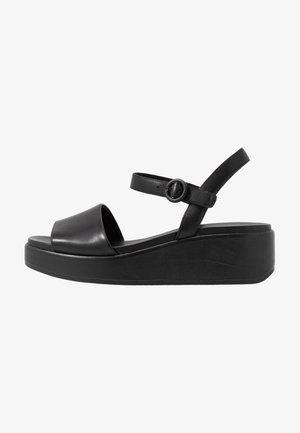 MISIA - Sandales à plateforme - black