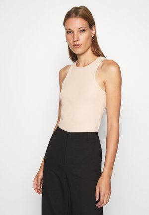 Botanical dyed top - Top - tan