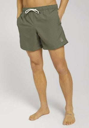 MIT REPREVE - Swimming shorts - tree moss green