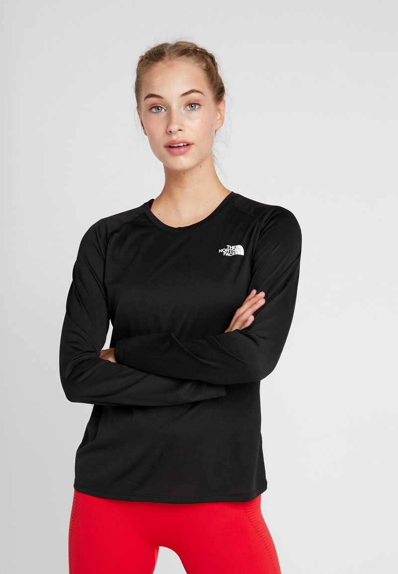 The North Face - REAX CREW - Sports shirt - black