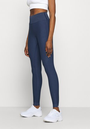 SEAMLESS BEAM - Leggings - blau