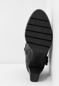 TOM TAILOR - Kotníková obuv - black - 6