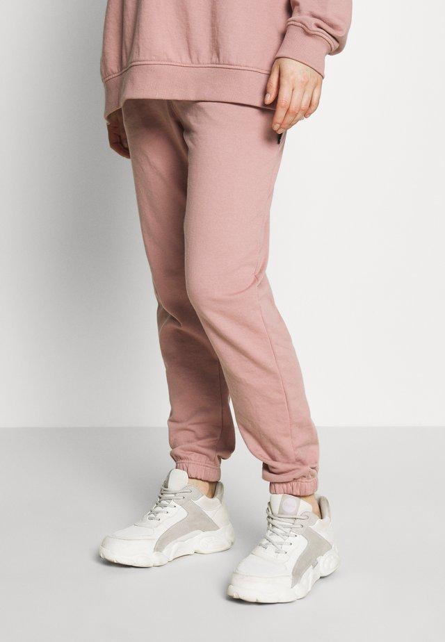 Teplákové kalhoty - rose pink