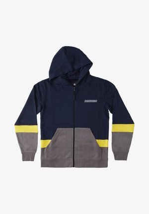 DOWNING   - Zip-up sweatshirt - navy blazer