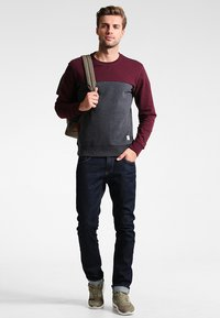 Pier One - Sweatshirt - mottled bordeaux - 1