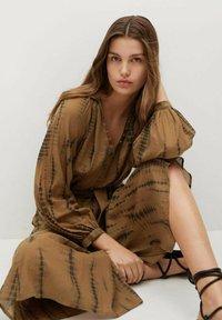 Mango - Shirt dress - braun - 5