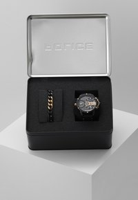 Police - SPECIAL SET - Chronograph watch - black/rose gold-coloured - 3