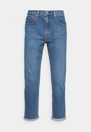 502™ TAPER HI BALL - Kitsenevad teksad - blue denim