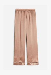 Intimissimi - LANGE HOSE AUS SATIN UND SEIDE - Pyjama bottoms - rose satin - 4