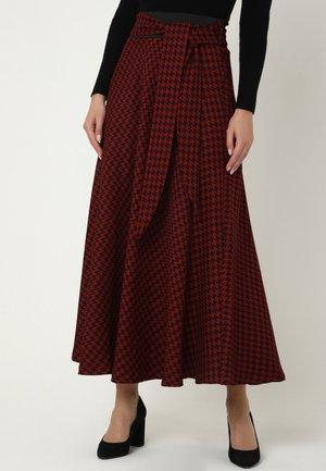 ROCK ROCK RITA - Maxi skirt - kastanienbraun