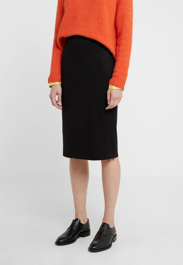 ARCADIA - Falda de tubo - schwarz