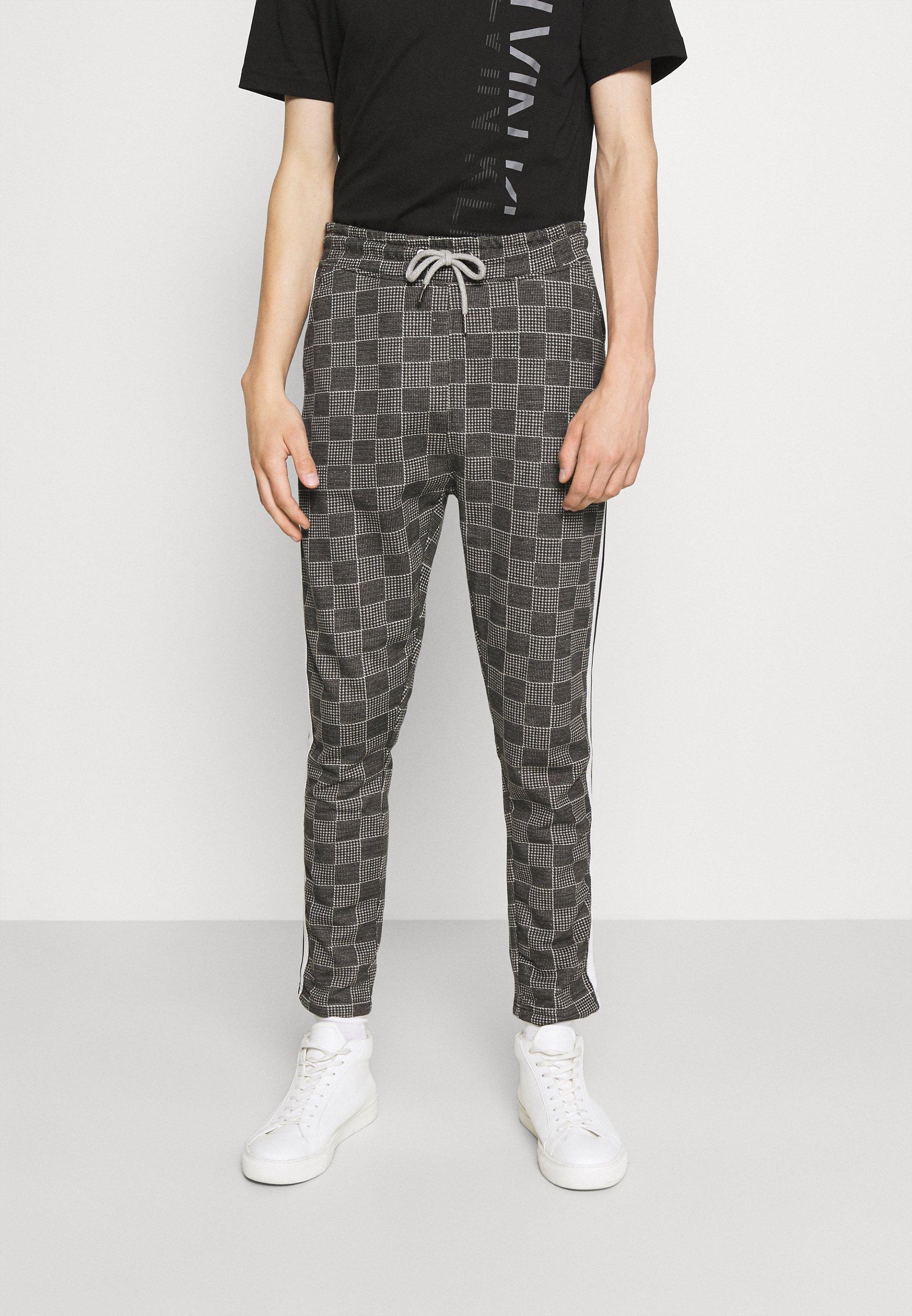 Men CHECK TROUSER - Trousers