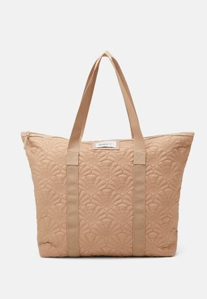 GWENETH FAN TONE BAG - Shopping bag - brush beige