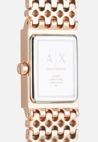 Armani Exchange - Hodinky - rose gold-coloured - 3