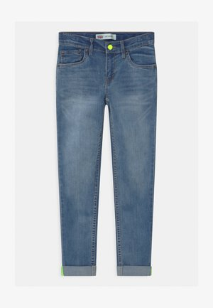 510 SKINNY PLAY ALL DAY UNISEX - Jeansy Slim Fit - blue denim