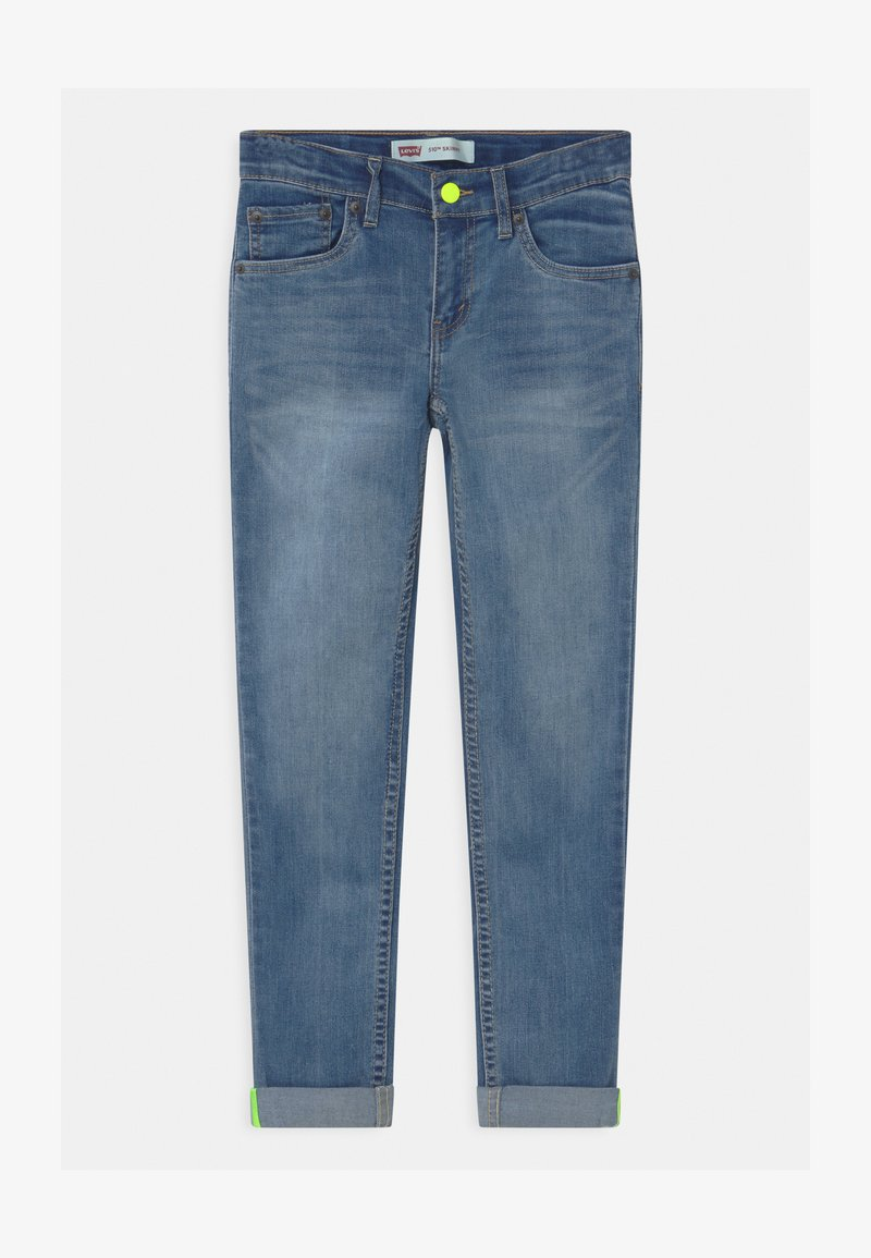 Levi's® - 510 SKINNY PLAY ALL DAY UNISEX - Vaqueros slim fit - blue denim