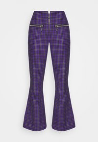 The Ragged Priest - BECK FLARED ZIP POCKETS - Trousers - purple - 3