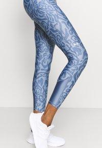 Under Armour - ANKLE LEG - Leggings - mineral blue - 6
