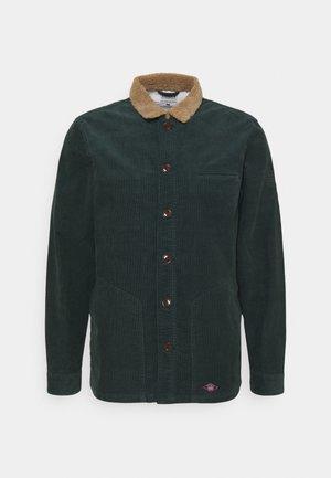 SPARK CORD OVERSHIRT - Košile - deep green