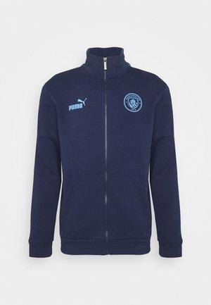 MANCHESTER CITY TRACK JACKET - Club wear - peacoat/team light blue