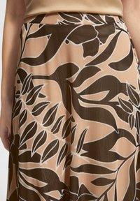 comma - BEDRUCKTER - A-line skirt - sahara leaf - 3