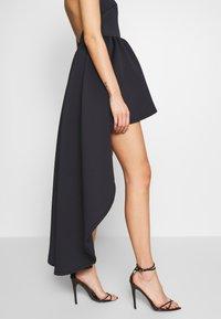 True Violet - HALTER NECK HIGH LOW DRESS - Sukienka koktajlowa - blue - 6
