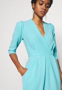 Closet - PUFF SLEEVE TULIP DRESS - Day dress - blue - 3