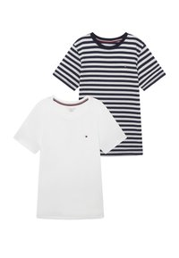 Tommy Hilfiger - STRIPE 2 PACK - Undershirt - blue - 3