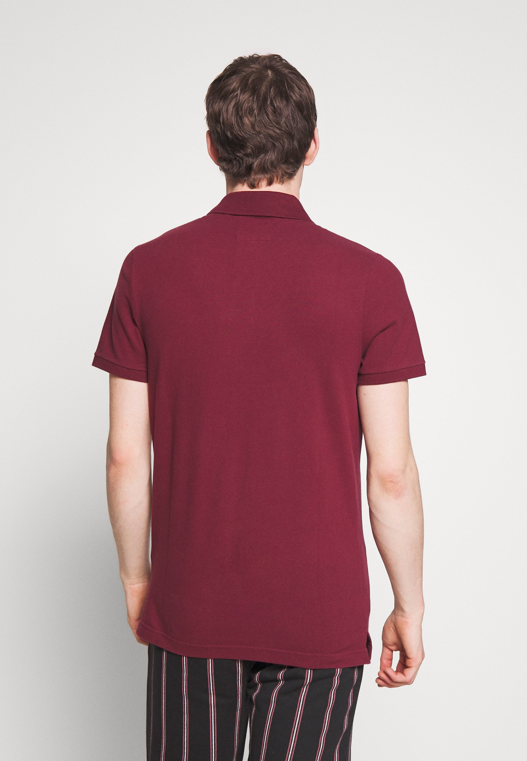 Hollister Co. SLIM FIT EXPLODED ICON - Polo shirt - burg JdCjI