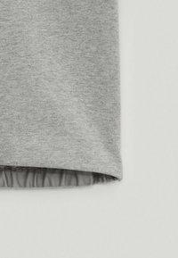 Massimo Dutti - Basic T-shirt - light grey - 6