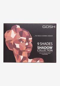 Gosh Copenhagen - 9 SHADES  - Eyeshadow palette - 006 to rock down under - 2