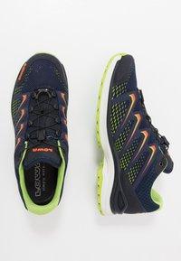 Lowa - MADDOX GTX - Hiking shoes - navy/limone - 1