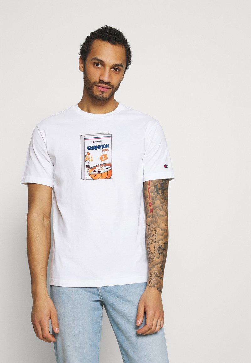 Champion Rochester - CREWNECK - Print T-shirt - white