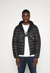 Diesel - W-DWAIN JACKET - Light jacket - black - 0