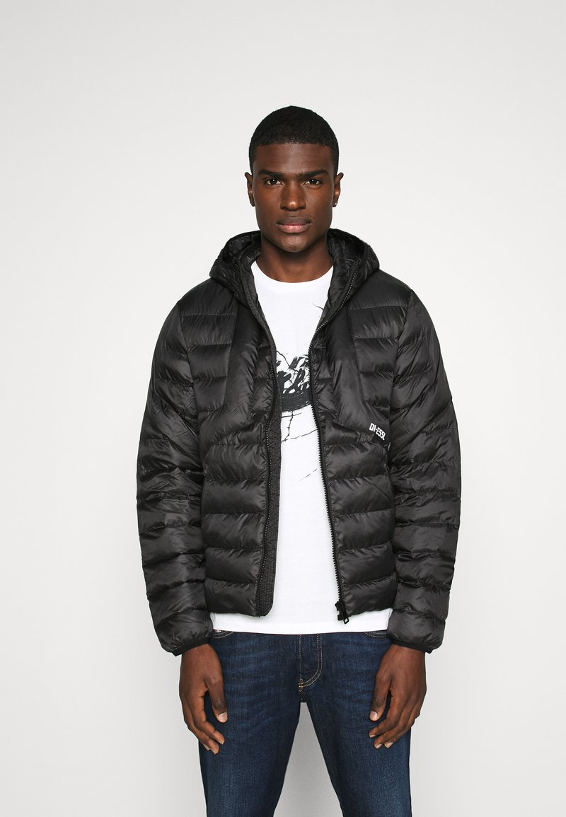 Diesel - W-DWAIN JACKET - Light jacket - black