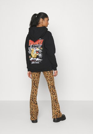 LOST IN PARADISE HOODIE - Bluza z kapturem - black