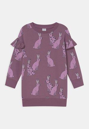 MINI LONG BIG FRILL - Day dress - dusty lilac