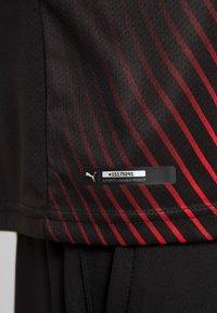 Puma - AC MAILAND 1899  - Club wear - black/tango red - 5