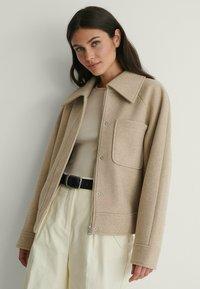 NA-KD - Light jacket - beige - 0