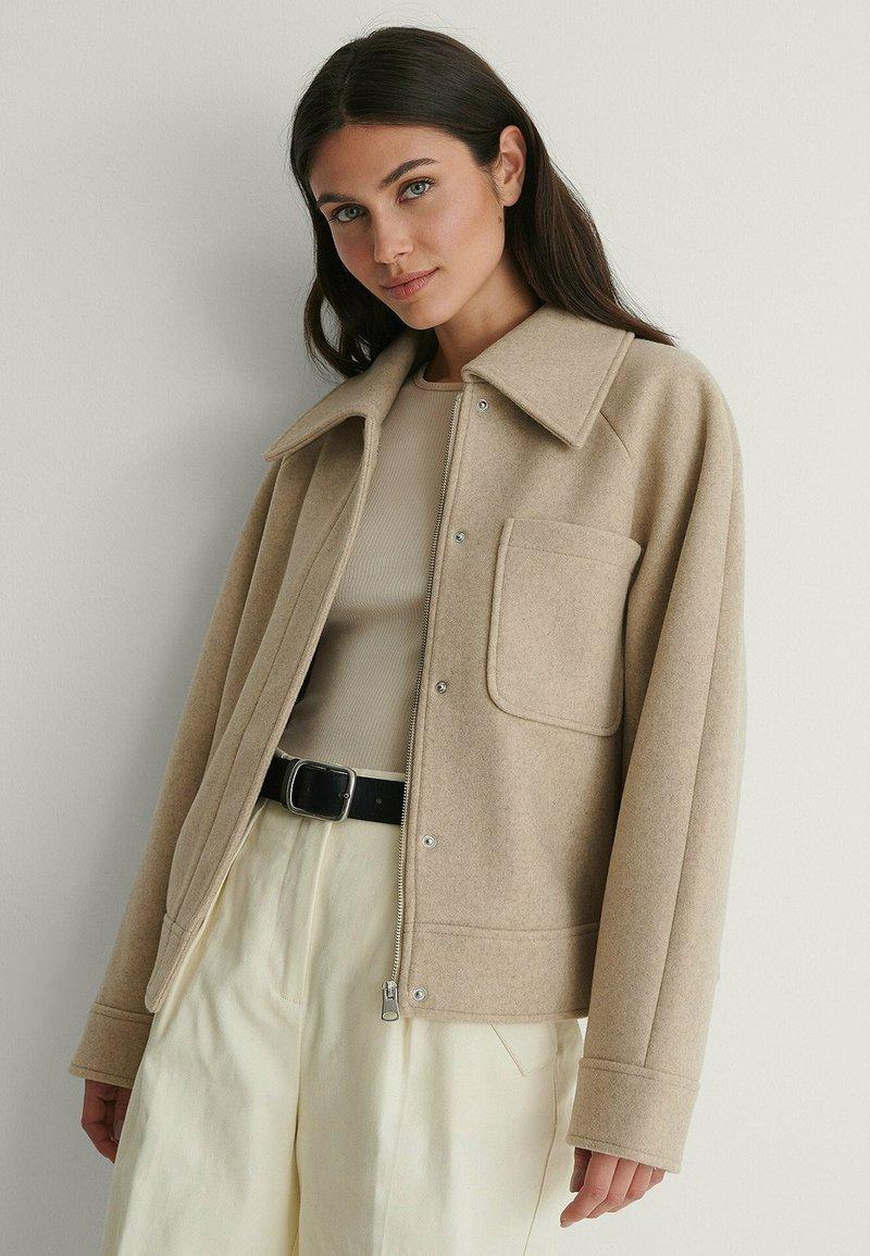 NA-KD - Light jacket - beige