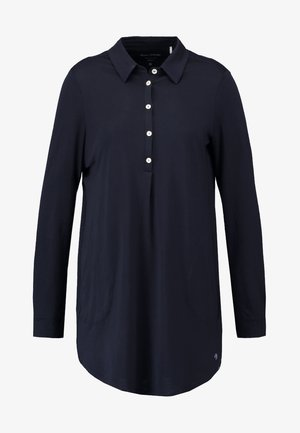 WITH COLLAR - Pyjama top - black