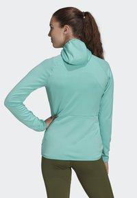 adidas Performance - Fleece jacket - green - 2