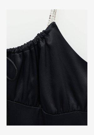 Sukienka etui - mottled black