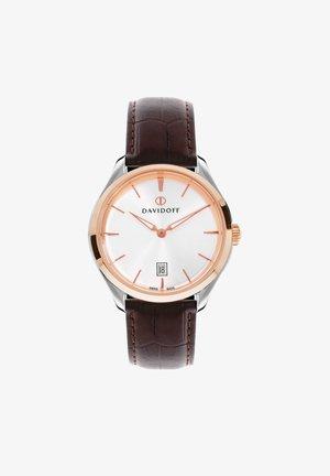 ESSENTIALS  - Watch - silber-rosegold