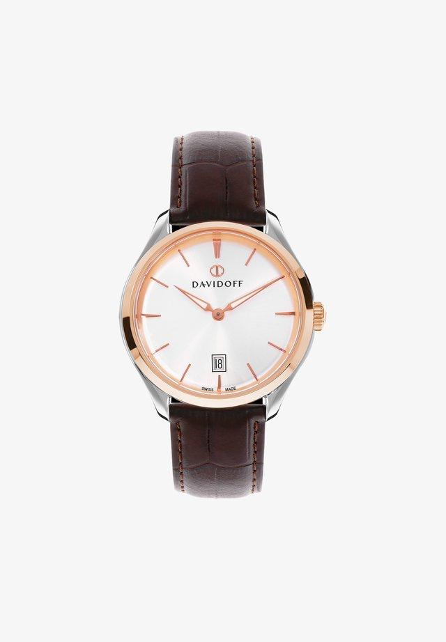 ESSENTIALS  - Horloge - silber-rosegold