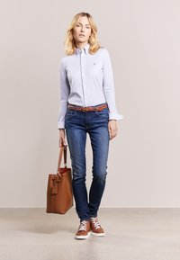 Polo Ralph Lauren - HEIDI LONG SLEEVE - Button-down blouse - andover heather - 1